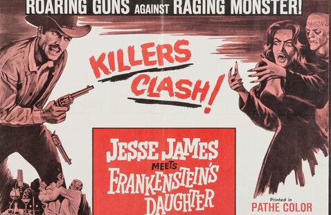 Jesse James Meets Frankenstein's Daughter movie poster