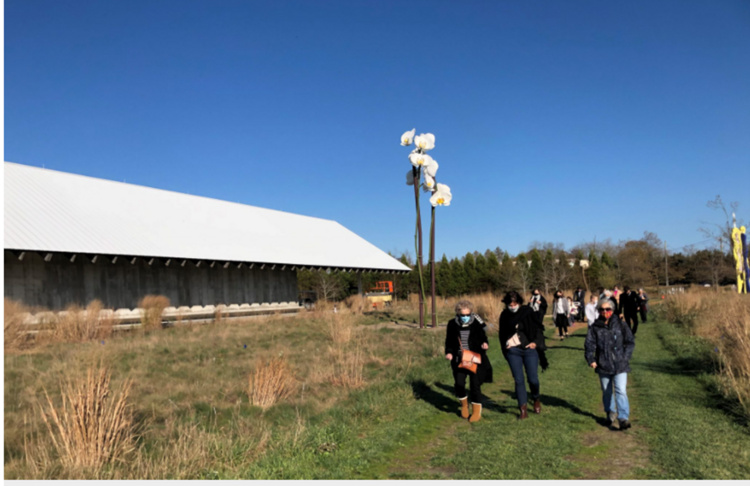 FIELD OF DREAMS WALKING TOUR WITH PARRISH DOCENTS
