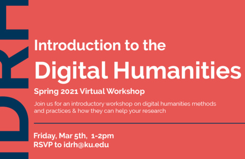 Introduction to the Digital Humanities