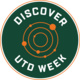 Discover UTD Week Badge