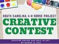 SC 4-H Horse Creative Contest