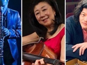 Easter Sunday Classical Clarinet/Cello/Piano LIVE STREAMING CONCERT