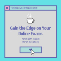 Virtual Workshop: Gain the Edge on Online Exams