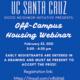 Off-Campus Student Housing Webinar