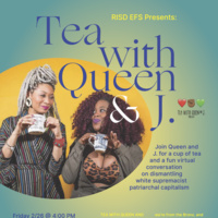Artist talk | Tea with Queen & J.