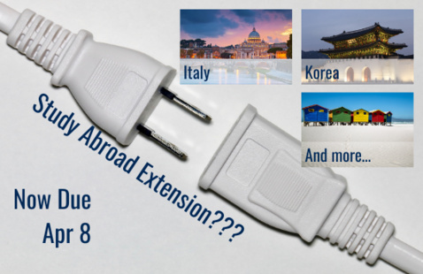 Study Abroad Extension for Italy? Korea? South Africa?