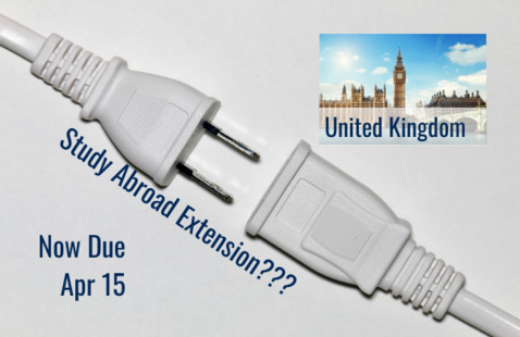Study Abroad Extension for the United Kingdom?