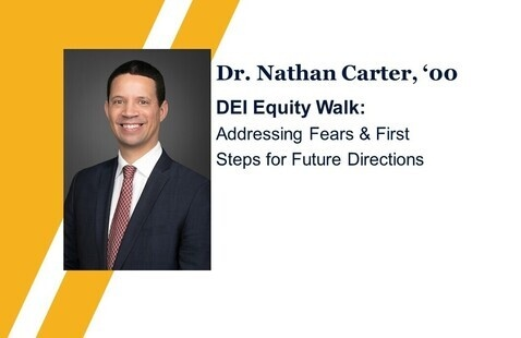 Equity Walk: Addressing Fears & First Steps for Future Directions