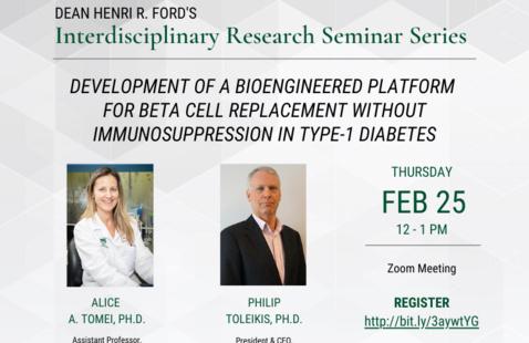 Dean Henri R. Ford's Interdisciplinary Research Seminar Series