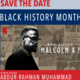 """SAVE THE DATE """"Who Killed Malcolm X?"""": MSSC Black History Month Keynote:"""