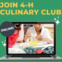 NCC 4-H Culinary Club