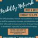 Disability Network Meet & Greet
