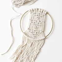 Gray Fund Presents: Macrame Wall Hanging Class with Assembly PDX