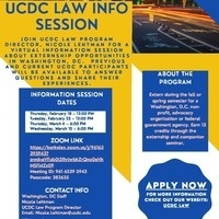 UCDC Law Info Session