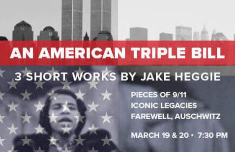 OHIO's Opera Theater presents: An American Triple Bill: Three Short Works by Jake Heggie