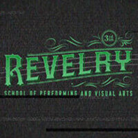 dark grey graphic with green text that reads 3rd Annual Revelry School of Performing and Visual Arts