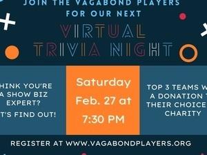 Vagabond Players - 2nd Virtual Trivia Night