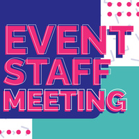 CAB Event Staff Meeting