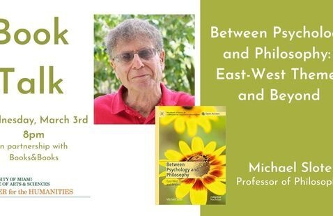 Book Talk - Michael Slote  Prof. of Philosophy