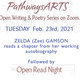 Open Writing & Poetry Series