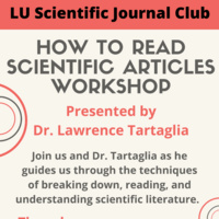 Workshop: How To Read Scientific Articles | Student Affairs