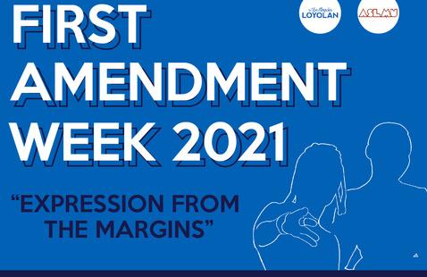 "First Amendment Week 2021 ""Expression from the Margins"" Finale Keynote Speaker Vic Mensa"