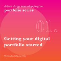 Portfolio Workshop 01- Getting your digital portfolio started