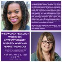Wise Woman Pedagogy Workshop poster