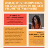 Worlds of Interconnection: Freedom-Making in the New Security Establishment