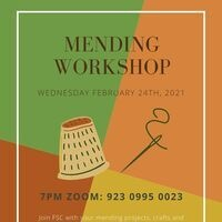 Involvement Week: Mending Workshop
