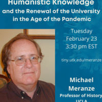 Humanistic Knowledge and the Renewal of the University in the Age of the Pandemic