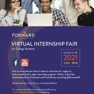 Forward Women's Leadership Forum: Virtual Internship Fair