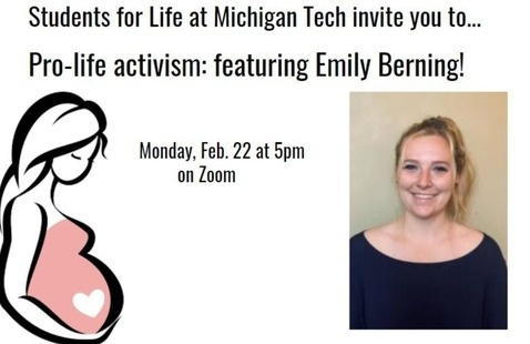 Pro-life activism: featuring Emily Berning!