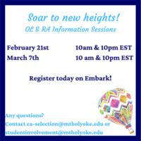 Resident Advisor & Orientation Leader Information Session