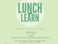 Lunch & Learn - Mental Health & Stress