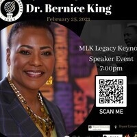 MLK Legacy Keynote Speaker; Dr. Bernice King