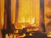 """""""Fire"""" by Rachel Underwood"""