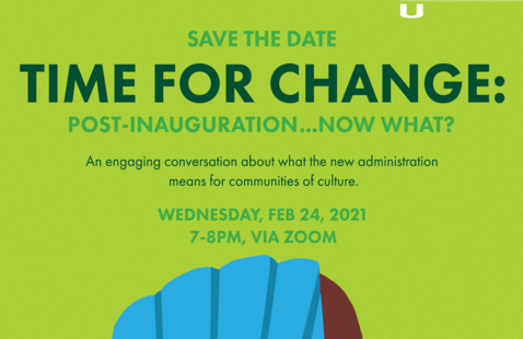 Time for Change: Post Inaguration...Now What?