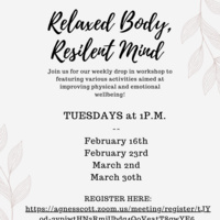 Relaxed Body, Resilient Mind Workshop