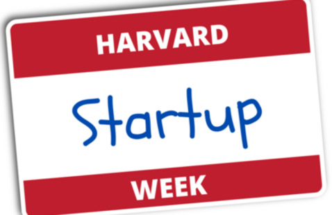 Getting Involved and Exploring the Entrepreneurship Scene at Harvard [Harvard Ventures Event]