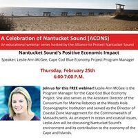 Save Our Sound's Live Webinar: Economic Impact of the Nantucket Sound