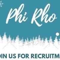 Phi Sigma Rho Recruitment Night 2