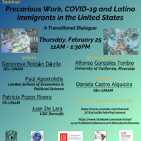 Precarious Work, COVID-19, and Latino immigrants in the United States