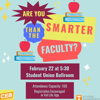 Are You Smarter Than the Faculty?
