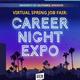 Virtual Spring Job Fair: Career Night 2021