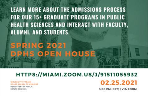 DPHS Spring 2021 Open House