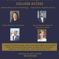 Uncovering Inequity and College Access