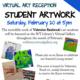 Virtual Student Art Reception