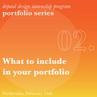 Portfolio Workshop - 02: What to include in your portfolio