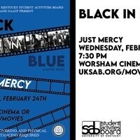 SAB Presents Black History Month Film: Just Mercy